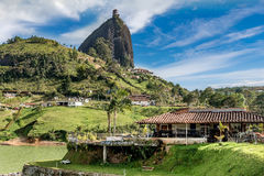 Rock of Guatape, Piedra de Penol, Colombia Stock Photography