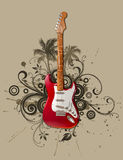 Rock guitar Stock Photo