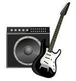 Rock guitar Royalty Free Stock Photography