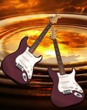 Rock guitar Stock Photos