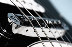 Rock guitar Stock Photography