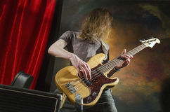 Rock guitar player_4 Stock Images