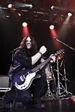 Rock guitarist performing Royalty Free Stock Photos