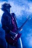 Rock Guitarist Royalty Free Stock Image