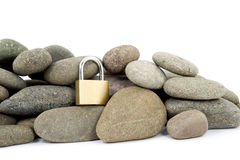 Rock hard security Royalty Free Stock Image
