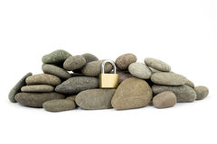 Rock hard security Royalty Free Stock Images