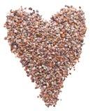 Rock Heart Royalty Free Stock Image