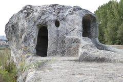 Rock hermitage, Spain Royalty Free Stock Photos