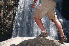 Rock Hiking Stock Photo