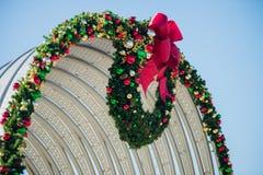 Rock hill south carolina downtown during christmas season Stock Photos