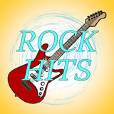Rock Hits Shows Soundtrack Sound And Audio Stock Photography