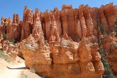 Rock Hoodoos in Bryce Canyon National Park in Utah Royalty Free Stock Photos