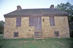 �The Rock House�, the oldest stone residence in  Georgia, Thompson, Georgia Stock Image