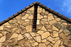 Rock House Vents Royalty Free Stock Images