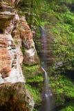 Rock House Waterfall Royalty Free Stock Photos