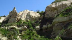 Rock Houses in Göreme, Cappadocia Stock Photos