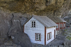 Rock houses Stock Photography