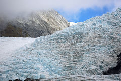 Rock and ice. Westland Tai Poutini National Park,  New Zealand Royalty Free Stock Images