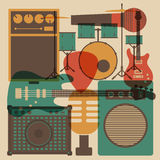 Rock instrument Stock Image