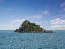 Rock island on the sea Stock Image