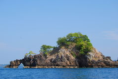 Rock Island Thailand. The rock island from Thailand Stock Image
