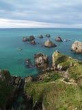 Rock islands in the ocean Stock Images