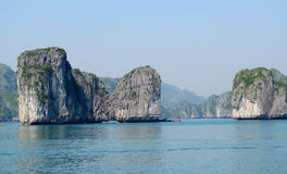 Rock islands in the sea royalty free stock images