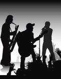 Rock jam royalty free illustration