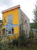 The Rock Jewelry & Art Merchants — Dawson City, Yukon, Canada. The Rock Jewelry & Art Merchants, Historical Buildings, Now Front Street Shops, Dawson Stock Photography