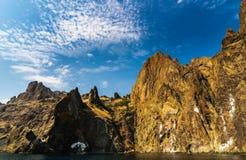 Rock in Karadag National park near Koktebel Stock Photography