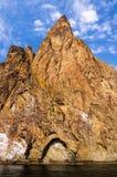 Rock in Karadag National park near Koktebel Stock Photo