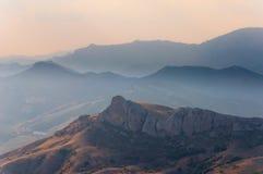 Rock in Karadag National park near Koktebel Stock Images