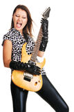 Rock lady Stock Images
