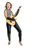 Rock lady Stock Image