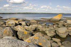 Rock landscape Stock Images