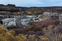 Rock landscape at autumn Royalty Free Stock Images