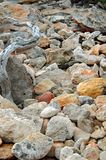 Rock landscape background Stock Photo