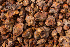 Rock. Laterite stone ground brown. Wallpaper Red Rock Royalty Free Stock Photography