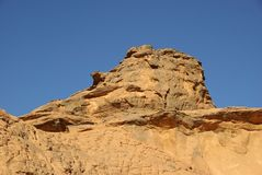 Rock, Libya Stock Photo