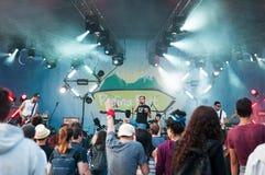 Rock live concert Stock Photo