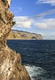 Rock of Madeira. stock image