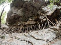 Rock at Mae Sa Waterfall, Thailand Royalty Free Stock Photo