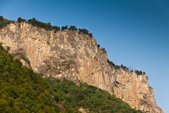 Rock mass. If above Teteven, Bulgaria Royalty Free Stock Images