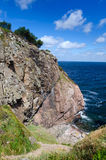 Rock massif on western Swedish coast Royalty Free Stock Photography