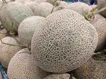 rock melon Stock Photo