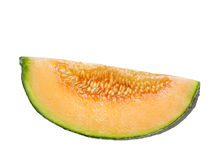 Rock melon slice Royalty Free Stock Photography