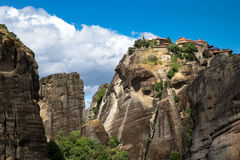 Rock in Meteora Stock Photo
