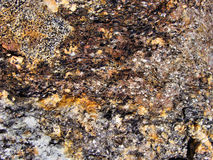 Rock minerals closeup Stock Images