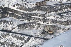 Rock mining Royalty Free Stock Photos