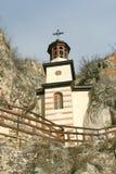 Rock monastery Royalty Free Stock Image